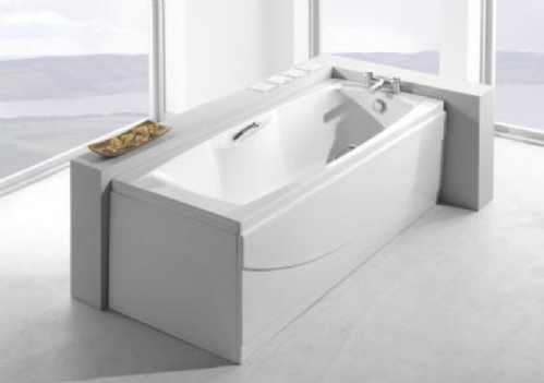 Carron Imperial 1675 x 700mm Twin Grip, Single Ended Bath